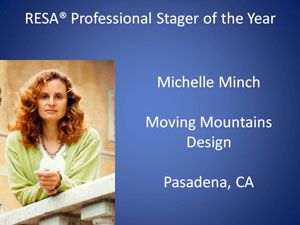 Michelle Minch Pro Stager of the Year