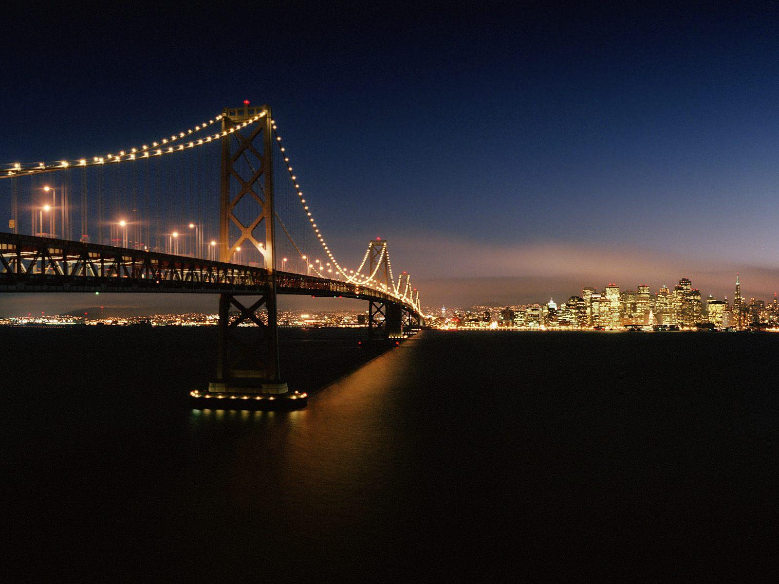 San Francisco Night Sceen